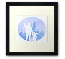 Diamond Disneyland Framed Print