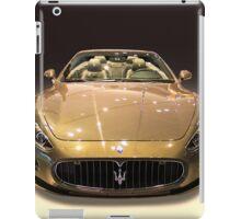 Maserati gold colour iPad Case/Skin