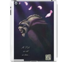 A Tale As Old As Time iPad Case/Skin