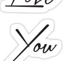 I Love You Mom Sticker
