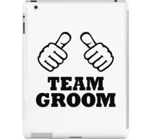 Team groom iPad Case/Skin