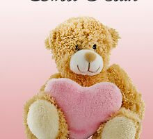 Sweet Heart Teddy by DonDavisUK