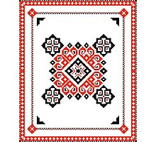 Traditional Folk Pattern Photographic Print