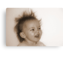 Nice Hair Canvas Print