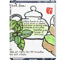 Mugwort Cake and Wild Mint Tea iPad Case/Skin