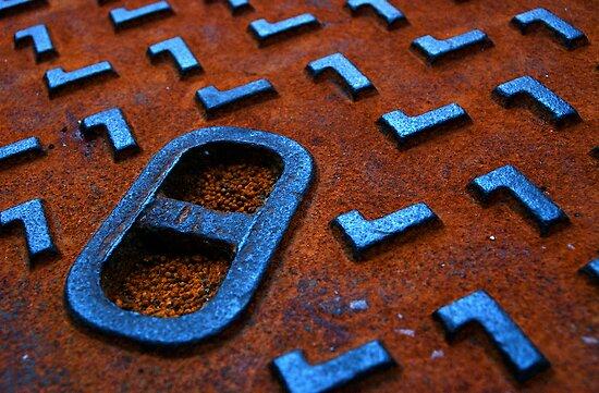 Rusty sewer by Etienne RUGGERI Artwork eRAW
