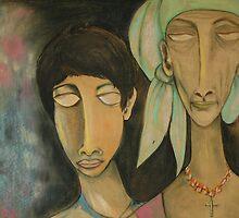 Gipsies by Bronislava Loban