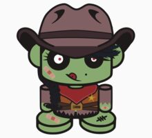 Zombie Cowgirl O'bot 1.0 T-Shirt