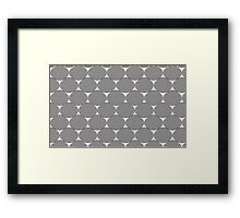Optical Ovals Framed Print