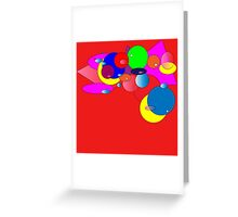 Bubbles 2 Greeting Card