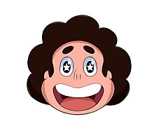 Steven Universe Head Icon Photographic Print