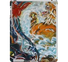Yin Yang Tiger meets Dragon iPad Case/Skin