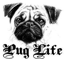pug life by teeshoppy