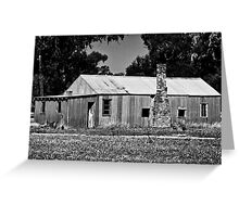 Wool Classer's digs - Tubbo Station NSW (2008) Greeting Card