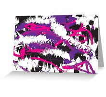Abstract Well Greeting Card