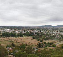 Goulburn View From The Hill by rossco