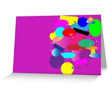 Color Color Color Greeting Card