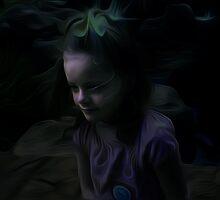 Child in Moonlight by Rod Underhill