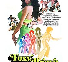 Foxy Brown Alt. (Green) by PulpBoutique