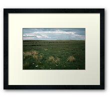Wadsworth Moor West Yorkshire England 198406030058m Framed Print