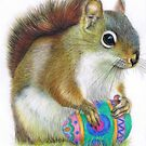 The Easter Nut by Karen  Hull