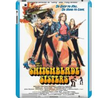 Switchblade Sisters (Color) iPad Case/Skin