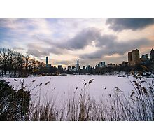 The Lake - Central Park Photographic Print