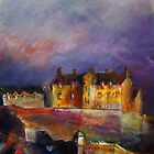 Edinburgh Castle by Fee Dickson