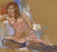 A sunday morning pastel by djones