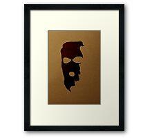 Criminal Concept | Six Framed Print