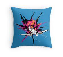 Fighter plane Throw Pillow