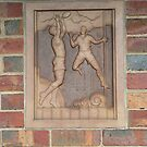 Art Deco Football by David Thompson