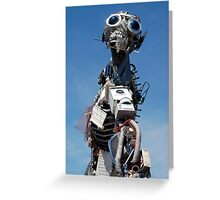 WEEE MAN Waste Electrical and Electronic Equipment Robot Greeting Card