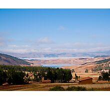landscape, Urubamba, Cuzco Photographic Print