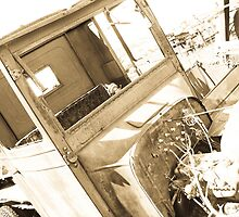 Nevada City Ford (Sepia) by MeBoRe