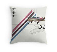 Flight 1 Throw Pillow