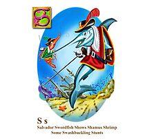 Shamus and Salvador Photographic Print