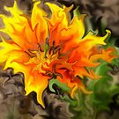Flame Flower by karenlynda