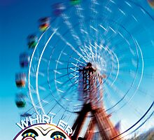 Whirler Party Wheel by Sean Pinwill