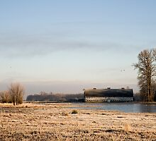 Nisqually Delta on a Winters Morning by Bryan Peterson