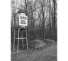 Tower & Tracks Photographic Print