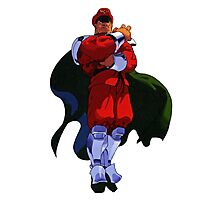 The only Final Boss - M Bison Photographic Print