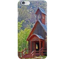 Chapel In The Woods iPhone Case/Skin