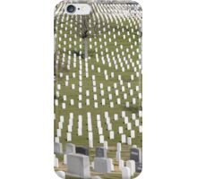 Washington military cemetery  iPhone Case/Skin