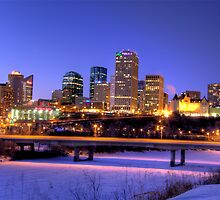 Edmonton Evening by John Fletcher