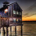 San Diego Seaport Hut by Ahmed Shamsi
