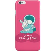 Love is Cruelty Free iPhone Case/Skin