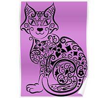Hello My Beautiful Cat Poster