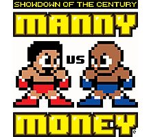Mega Manny vs. Mega Money Photographic Print