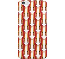 White Arrow graphic print hand painted starting point iPhone Case/Skin